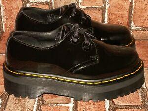 Dr. Martens HOLLY chunky patent quad platform shoes uk 5 eu 38 us 7 Doc#430