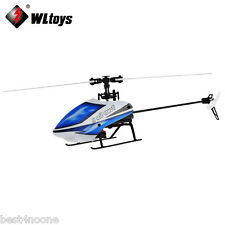 Wltoys V977 2.4GHz 6CH RC Gyroscope Helicopter Brushless Flybarless 3D Aircraft