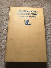 NANCY GOES GIRL SCOUTING; Jean Henry Large  VERY Rare Hard Copy 1st Edition book