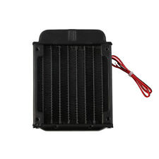 Aluminum 80mm Water Cooling cooled Row Heat Exchanger Radiator+Fan for CPU PC XD