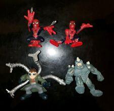Superhero Squad Spider-Man Series 2 Movie Lot of 4 Set Doctor Octopus Rhino SHS