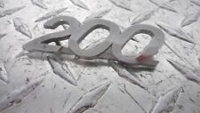 70-71 Yamaha CS3 200 Emblem