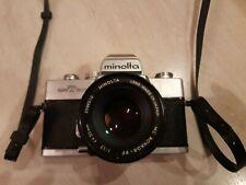 Minolta srt 303b with minolta MC rokkor-PF 1:1.7  50mm