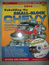 SA116 BOOK SMALL BLOCK CHEVY SBC REBUILDING IMCA VIDEO DVD DESIGN PERFORMANCE GM