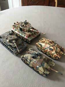 ITLIERI: lot de chars allemands WWII 1/35e