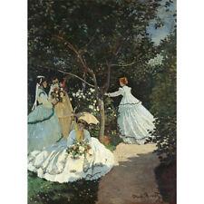 Wooden Jigsaw Puzzle 500 PCS Women in the Garden Claude Monet Painting Art Decor