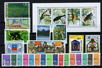 BG142572/ MAYOTTE – Y&T # 111 / 139 MINT MNH – COMPLETE YEAR 2002