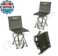 Guide Gear Big Boy Hunting Blind Chair Comfort Swivel 360 500-lb Capacity Seat