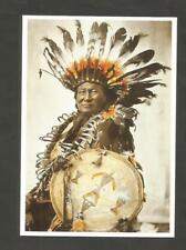 POSTKARTE INDIAN  NATIVE INDIANER- AMERIKA HUNKPAPA SIOUX RAIN IN THE FACE
