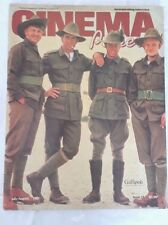 CINEMA PAPERS,1981 July Aug MEL GIBSON Gallipoli Cover & Review