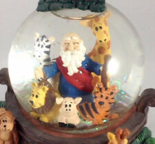 Noah's Ark Musical Resin Water Snow Globe