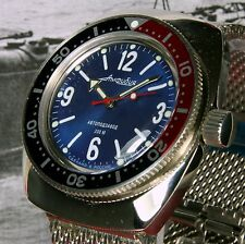 Vostok anfibi, Amphibia CUSTOM RUSSO AUTOMATICO DIVE WATCH, NEW, Boxed, UK Venditore