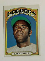 1972 Topps Larry Hisle # 398 Baseball Card Los Angeles Dodgers LA