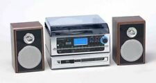 Steepletone Atlantic DAB 6 in 1 Music Centre CD Recording from Tape,Record,CD