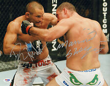 DAN HENDERSON SHOGUN RUA SIGNED AUTO'D 11X14 PHOTO PSA/DNA COA AC29465 UFC 139