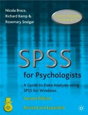 SPSS for Psychologists, Brace, Nicola & Etc. & Kemp, Richard & Snelgar, Rosemary