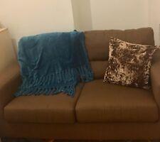 Jumbo Cord Corner Sofa In Grey or Brown, a Footstool or 2+3 Seater, Swivel