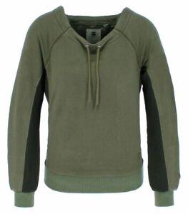G-Star Raw Denim ORE Boatneck Damen Sweatshirt Unterarmeinsatz
