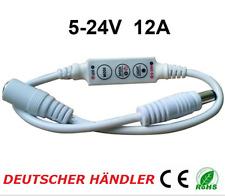 █► mini Dimmer Controlador regulador para segregados LED con adaptador de 5 - 24v hasta 12a
