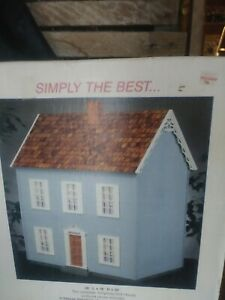 The Simplicity Wooden Doll House S-700D Retired New in Box