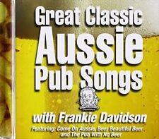 FRANKIE DAVIDSON Great Classic Aussie Pub Songs CD BRAND NEW