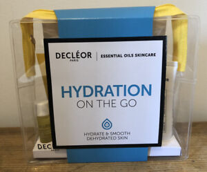 New Decleor Hydration On The Go Travel Gift Set Serum Cream Cleansing Milk