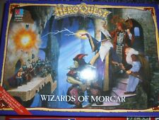 Heroquest Wizards of Morcar Expansion Set Boxed Complete VGC