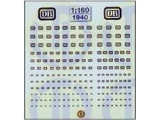 TL-Decals 1940 - Decals Firmenzeichen der DB - Spur N - NEU