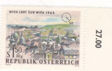 1,50 S+30g,Wien Läd zu WIPA 1965,Süd /Osten , ungestempelt , O Zelleer