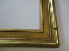 ANTIQUE VINTAGE GOLD TONE FRAME WOOD CARVED AMERICAN 16 BY 20 INCH FOR PAINTING