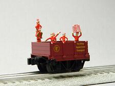 Lionel The Polar Express Elf Work Train Crew Transport O Gauge 2022090-Ct New