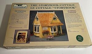 "NEW Greenleaf~ The Storybook Cottage Wooden Dollhouse Kit  1""-1' Scale #8021 USA"