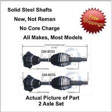 2 1999-2006 CADILLAC ESCALADE / ESV/ EXT CV Axle Shaft-New Front-Left/Right