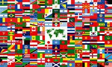 4x6 Desk Flag United Nations Member Set Flags International 193 Un Countries