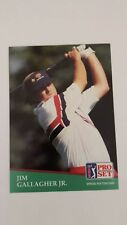 JIM GALLAGHER, JR. 1991 PRO SET PGA TOUR GOLF Card # 115 C0057