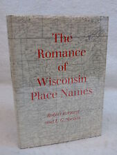 Gard & Sorden THE ROMANCE OF WISCONSIN PLACE NAMES October House c.1968 HC/DJ