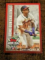 2019 TOPPS HOME RUN CHALLENGE RONALD ACUNA JR. #HRC-16 *BRAVES*