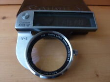 CANON AUTO-UP CLOSE UP LENS & RANGEFINDER LENS 50MM V - II with case