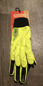 Specialized Women's Prime Series Waterproof Hyperviz Cycling Gloves Medium