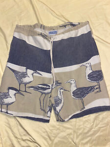 Vintage Michigan Rag Co Surf Trunks