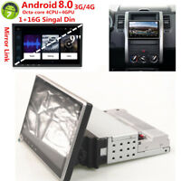 """9"""" Singal Din 8 Core WIFI 3G/4G Car Stereo Radio MP5 Player TPMS Mirror Link"""
