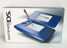 Nintendo DS Original Electric Blue Empty Box Only NO SYSTEM Launch Edition Good