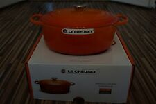 Le Creuset Signature Bräter Oval 31cm 6,3L Ofenrot NEU OVP Topf Gusseisen