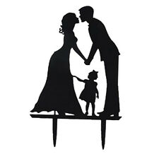 10pcs Wedding Cake Toppers with Bride and Groom Figurine Wedding Accessory