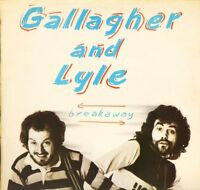 GALLAGHER AND LYLE breakaway AMLH 68348 A1/B1 1st pressing uk a&m LP PS VG+/EX