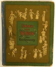 Under the Window Kate Greenaway Vintage Book McLoughlin