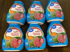 New listing Great Value Tropical Guava Liquid Water Drink Enhancer 1.62 oz 48ml New (6 Pack)