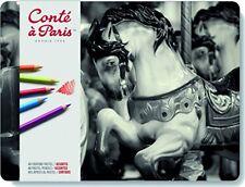 Conte un París Pastel Lápiz Set-Surtido (juego de 48)