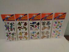 Vintage Stickers 5 verschiedene Bögen  Hans Postler  90er Jahre Nr.3