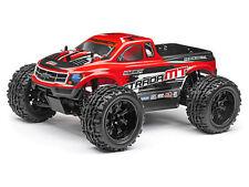 Modellini di auto e moto radiocomandati monster truck rosso